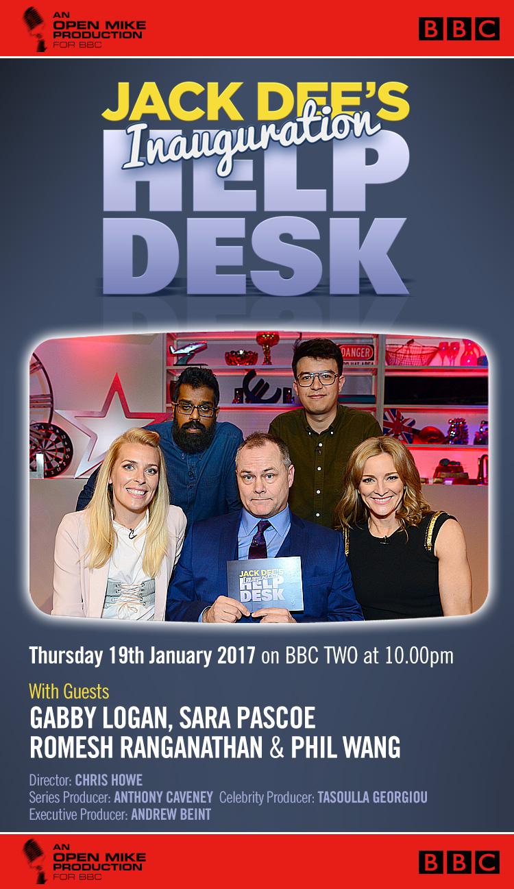 Jack Dee's Inauguration Help Desk