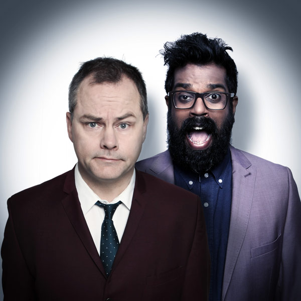 Romesh and Jack Dee